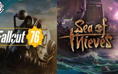 Sea of Thieves y Fallout 76 en camino para Steam