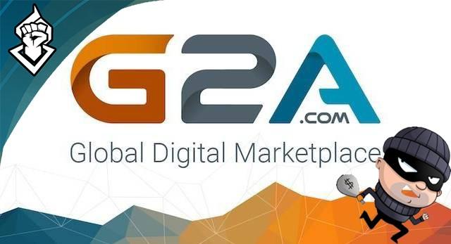 G2A admite que ha vendido juegos robados